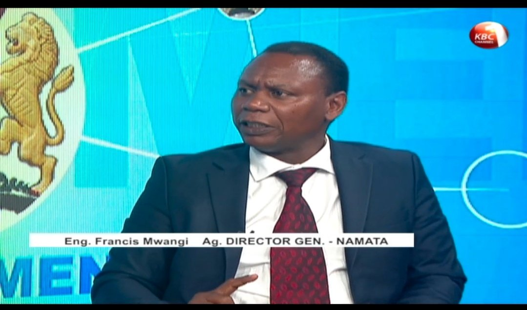 NaMATA Ag. Director General Interview on KBC Channel 1